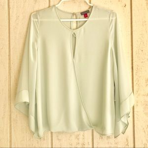 NWT Vince Camuto Moment Zen Fashion Sheer Blouse